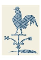 Weather Vane Rooster Fine Art Print