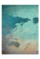 Destinations 1 Fine Art Print