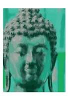 Blue Buddah Fine Art Print