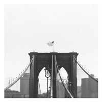 Brooklyn Bridge bw Fine Art Print