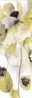 Gray Yellow Petals 2 Fine Art Print