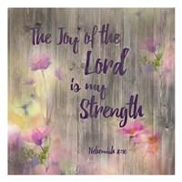 Joy Of The Lord Fine Art Print