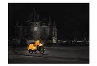 Amsterdam Scooter Fine Art Print