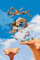 Jumping Jack Fine Art Print