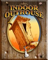 Indoor Outhouse Fine Art Print