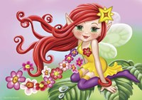 The Fairy on a Sheet Fine Art Print