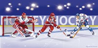Hockey Fine Art Print