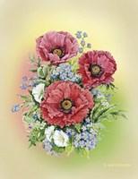 Bouquet of Poppies Fine Art Print