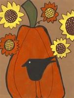 Primitive Pumpkin Fine Art Print