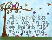 Butterfly Kiss Fine Art Print