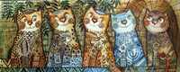 Cats Of Israel Fine Art Print
