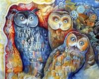 Owls Fine Art Print