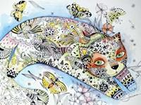 White Cat Fine Art Print