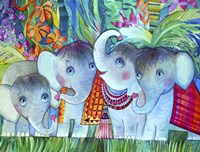 Baby Elephant Fine Art Print