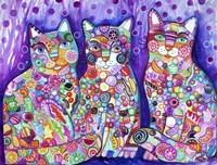 Candy Cats Fine Art Print