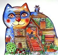 Russian Tale Cat Fine Art Print