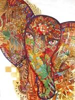 Red India Fine Art Print