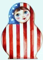 Russian Doll Fine Art Print
