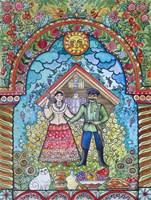 Russian Folk Fine Art Print