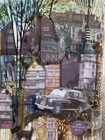 London Taxi Fine Art Print