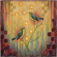 Birds Sunset Fine Art Print