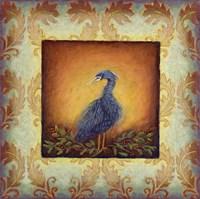 Woodside Heron Framed Print
