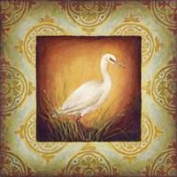 Woodside Egret Fine Art Print