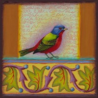 Painted Bunting Fine Art Print