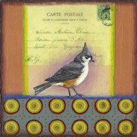 Carte Postale Bird 2 Fine Art Print