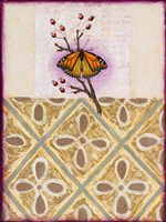 Cobbs Point Butterfly Framed Print