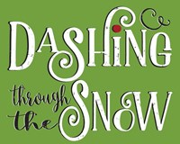 Dashing Through the Snow Fine Art Print