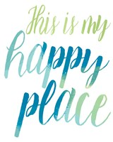 Happy Place Fine Art Print