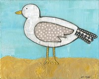 Seagull by the Seashore Fine Art Print