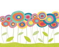 Lollipop Flower Field Fine Art Print