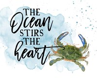 The Ocean Stirs the Heart Fine Art Print