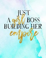 Girl Boss Fine Art Print