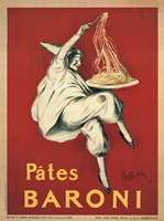 Pates Baroni by Leonetto Cappiello - various sizes, FulcrumGallery.com brand