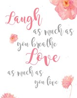 Laugh and Love Fine Art Print