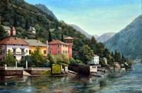 The Lenno Shore Fine Art Print