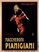Maccheroni Pianigiani 1922 by Achille Luciano Mauzan - various sizes