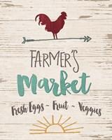 Farmer's Market - Cream Fine Art Print