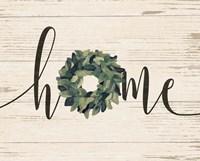 Home Wreath Fine Art Print