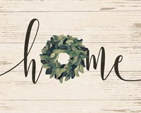 Home Wreath Fine Art Print