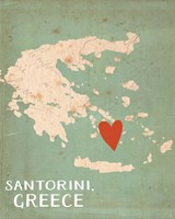 Greece Fine Art Print