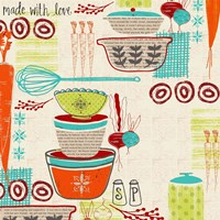 Retro Kitchen Fine Art Print