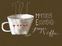 Morning Essentials Framed Print