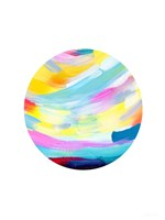 Colorful Uprise Ball II Fine Art Print