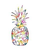 Electric Pineapple Fine Art Print