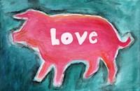Love Pig Fine Art Print
