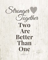 Stronger Together Fine Art Print